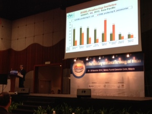 Plenary lecture, 15th APCCMI Day 3 - delivered by Prof Hsueh PR