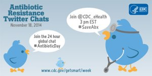 Twitter Chat about Antibiotics: 18th November 2014, USA