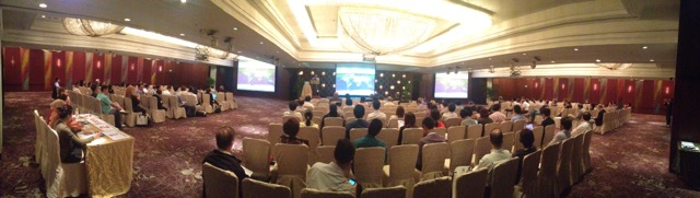 Panoramic view of the plenary session of the Courage Fund ID Conference Day 1