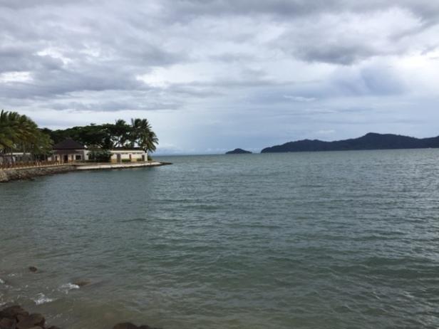 View of Sabah from Tanjung Aru Resort in Kota Kinabalu.