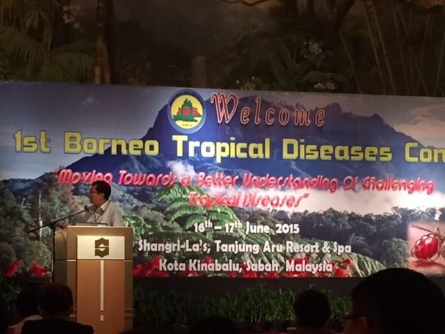 Dr. Timothy William giving a lecture on...