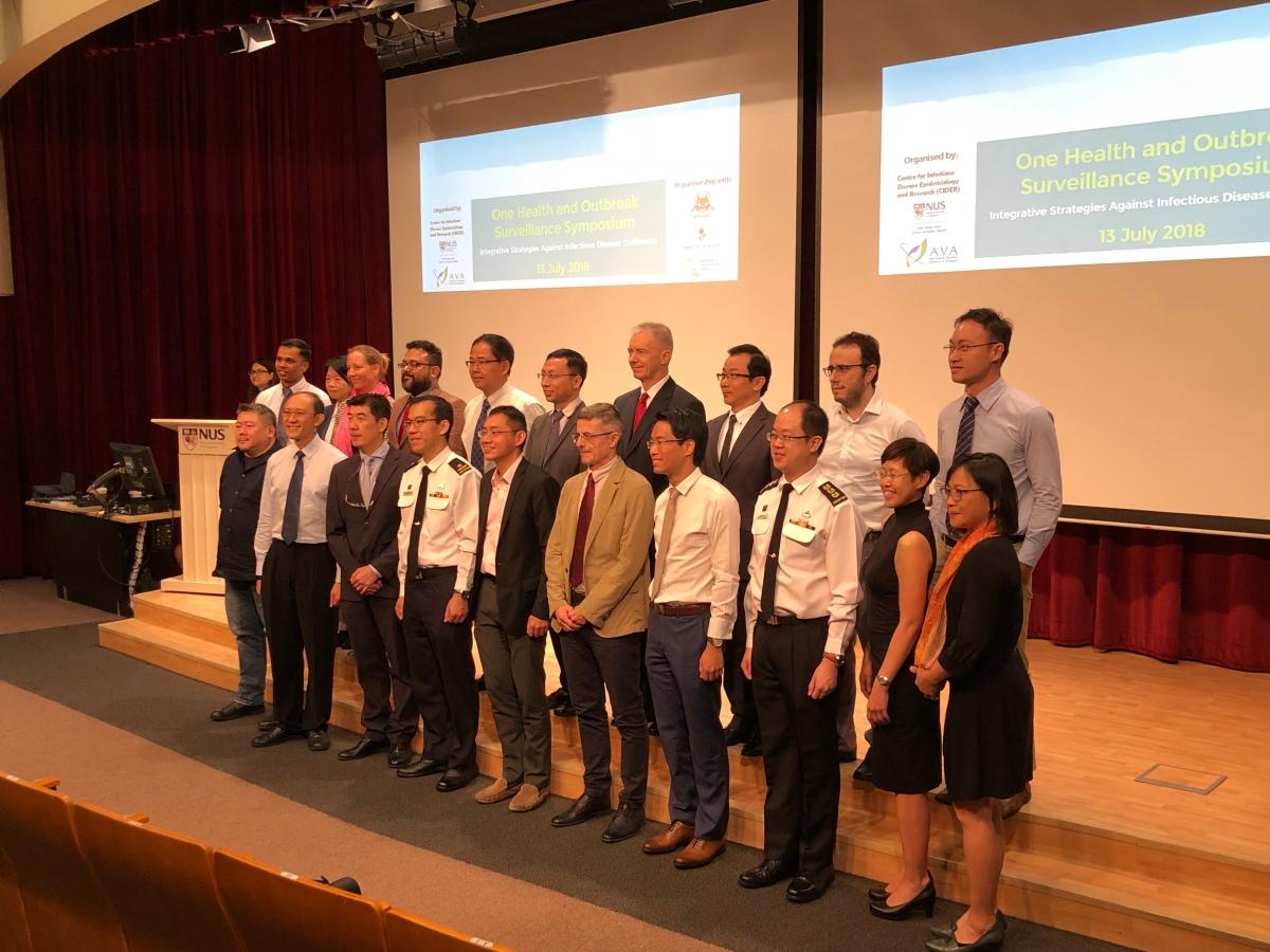 One Health and Outbreak Surveillance Symposium   MIPHIDIC